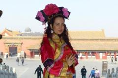 Tras actuación en Pekín, recepción en la Ciudad Prohibida
