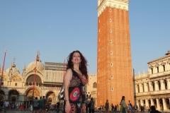 Estrella Cuello tras actuación en Venecia