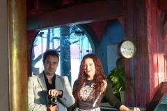 Con mi marido y fotógrafo personal Gonzalo Martínez ;-)