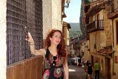 Previo a la actuación en el ciclo de música antigua Ciudad de Frías 2