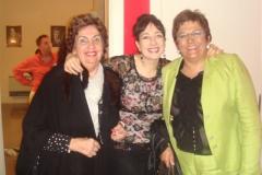 Con mi madre y mi gran amiga Sole en los camerinos del Auditorio de Zgz