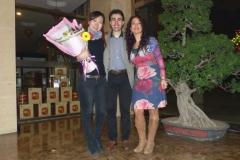 Con Jesús Naveira, director musical de la gira de conciertos ofrecidos en China