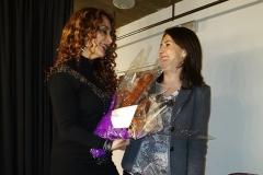 Camerinos Palacio de la Audiencia de Soria, admiradora entrega un ramo de ... chori-flores ;-)
