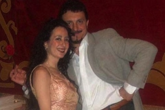 Con el barítono Mario Valdivieso de concierto en Daroca