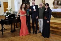 Final de actuación con el tenor Angel Cortés en Torrellas 1