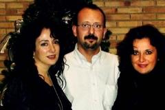 Estrella Cuello en el Auditorio de Zaragoza tras actuación con Eliberto Sánchez y Beatriz Gimeno