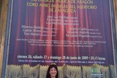 Un gran sueño cumplido: Cartel de La Traviata con Estrella Cuello como Violeta Valery en la Sala Mozart del Auditorio de Zaragoza