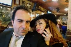 Gonzalo Martínez y Estrella Cuello Soprano tras actuación