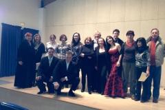 Master Class organizada por la soprano Estrella Cuello con Ana Luisa Chova