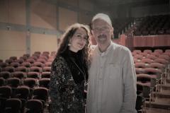 En el Palacio de la Audiencia con el pianista y maestro repertorista Eliberto Sánchez-Brau