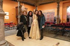 Mis amigas Karina, María Jesús y María Luisa tras concierto en Patio de la Infanta