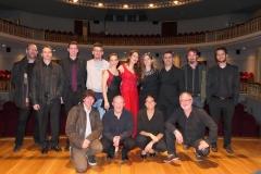 Tras el concierto con Camerata Contrapunto en e Teatro Monumental Bellas Artes de Tarazona