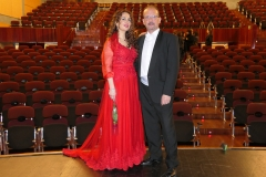 Tras concierto en el Palacio de la Audiencia con el pianista y maestro repertorista Eliberto Sánchez-Brau