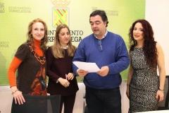 Presentacion opera Dido y Aeneas. Rueda de prensa en el Ayuntamiento de Torrelavega