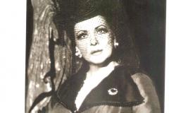 Dedicatoria de la soprano Virginia Zeani, Maestra de Canto que conocí y me dio clases en la Master Class del Viñas de Barcelona y me animó como nadie a seguir con mi carrera