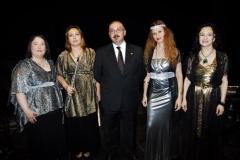 Actuación en el Castillo de Olite con el Ensemble Más que Voces