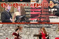 Cartel Ensemble Masquevoces Pasión Española Comillas