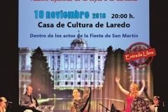Cartel Pasión Española en Laredo