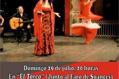 Cartel Pasion española Torco Suances