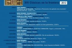 Carteles de producciones y conciertos23