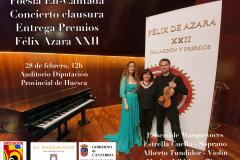 Recital Diputación Provincial Huesca