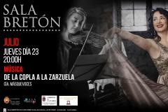 Recital Pasión Española sala Bretón