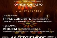 Requiem Schumann Teatro Principal de Burgos