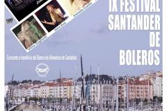 cartel festival Santander de Boleros con Nando Agueros