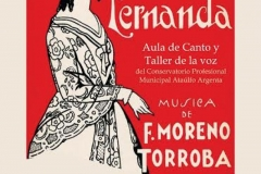 cartel zarzuela Luisa Fernanda