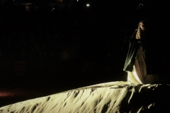 Estrella Cuello como Isabel de Portugal en la Playa Salvé de Laredo