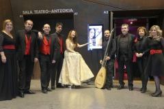 Concierto de la soprano Estrella Cuello en el Palacio Euskalduna