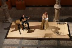 Concierto en el Patio de la Infanta de la soprano Estrella Cuello