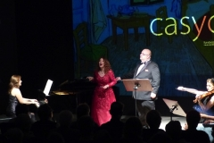 Concierto con el Ensemble Más que Voces en el Teatro Casyc de Santander, Sala Up