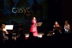 Estrella Cuello On Stage11Concierto con el Ensemble Más que Voces en el Teatro Casyc de Santander, Sala Up