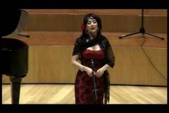 Concierto en la Sala Mozart del Auditorio de Zaragoza con el Coro Amici Musicae