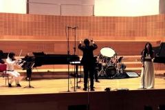Concierto de música contemporánea en el Auditorio Eduardo del Pueyo bajo la dirección del Maestro Nacho de Paz