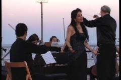 Concierto en el Castillo de San Felipe de Menorca con la Orquesta Barroca de Huesca dirigida por Antonio Viñuales