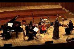 Concierto en la Sala Mozart del Auditorio de Zaragoza con el Ensemble Más que Voces