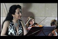 Concierto en el los Jardines del Palacio de Villahermosa con la Orquesta Barroca de Huesca dirigida por Antonio Viñuales