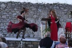 Foto Bailarina Nuria González y Soprano Estrella Cuello
