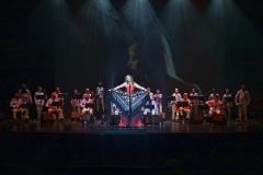 Estrella Cuello actuando en el IX Festival Santander Boleros en Palacio de Festivales