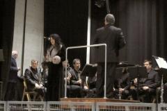 Estrella Cuello Soprano en Escenario Santander con la Banda Municipal