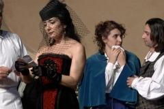 Estrella Cuello como Musetta en Bolonia