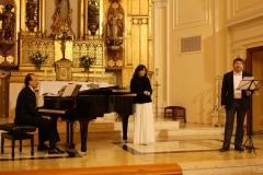 Recital con Juan Carlos Galtier Eliberto Sánchez y Estrella Cuello soprano