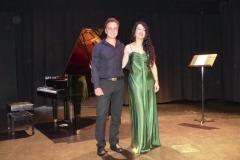 Concierto en la Casa de la Cultura de Laredo con el pianista Alvaro Piedra