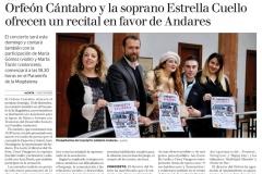 Diario Alerta 12 Diciembre Concierto Andares