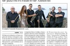 Reseña Alerta Concierto Jazz Noja