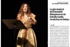 Reseña Concierto Selaya Diario Montañes