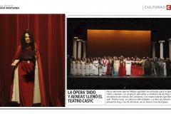 Reseña Diario Montañés Opera Dido y Eneas