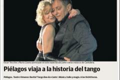Reseña Diario Montañés Tango